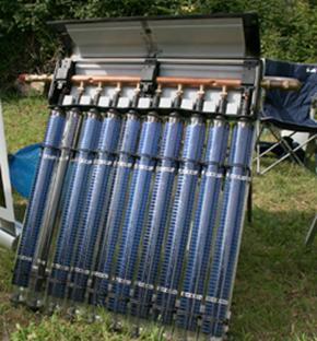 Thermomax solar water heating panel