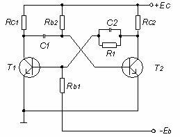 circuite basculante monostabile cu tranzistoare