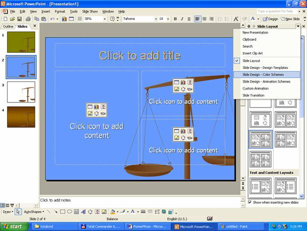 Crearea unei prezentari - Alegerea unui dezumidificator ...